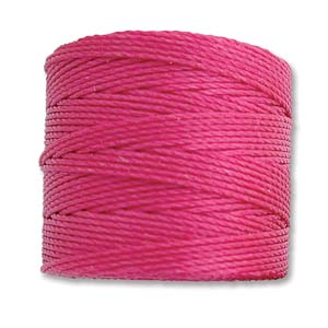 S-Lon, Superlon Tex 210, 0.5mm Bead Cord Magenta