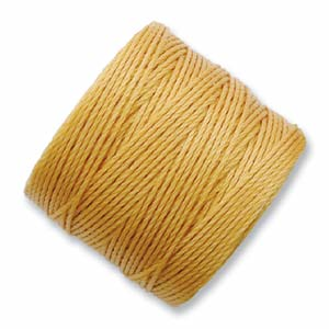 S-Lon, Superlon Tex 210, 0.5mm Bead Cord Marigold
