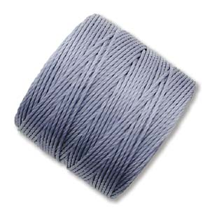 S-Lon, Superlon Tex 210, 0.5mm Bead Cord Montana Blue