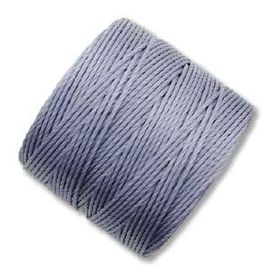 S-Lon, Superlon Tex 210, 0.5mm Bead Cord Montana Blue