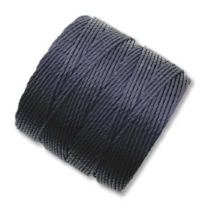S-Lon, Superlon Tex 210, 0.5mm Bead Cord Navy