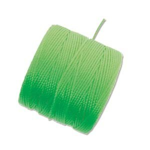 S-Lon, Superlon Tex 210, 0.5mm Bead Cord Neon Green