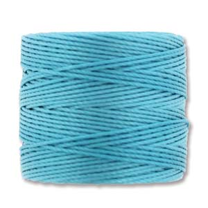 S-Lon, Superlon Tex 210, 0.5mm Bead Cord Nile Blue