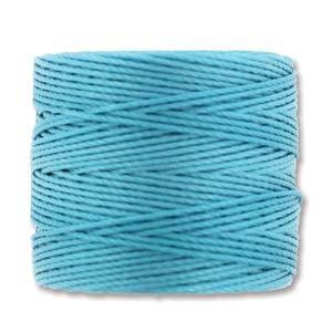 S-Lon, Superlon Tex 210, 0.5mm Bead Cord Nile Blue