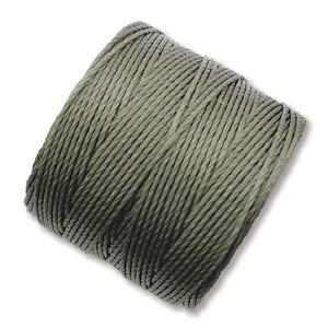 S-Lon, Superlon Tex 210, 0.5mm Bead Cord Olive