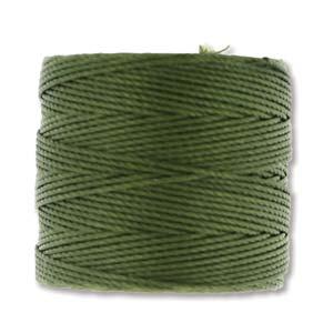 S-Lon, Superlon Tex 210, 0.5mm Bead Cord Olivine