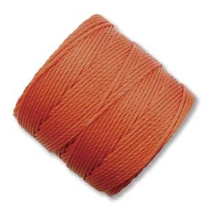 S-Lon, Superlon Tex 210, 0.5mm Bead Cord Orange
