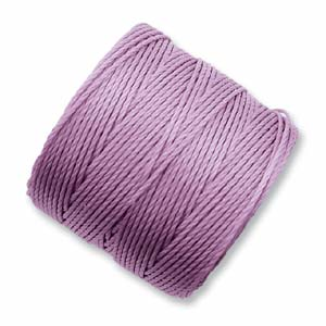 S-Lon, Superlon Tex 210, 0.5mm Bead Cord Orchid