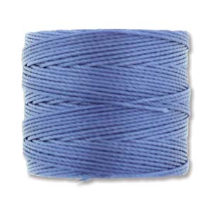S-Lon, Superlon Tex 210, 0.5mm Bead Cord Periwinkle