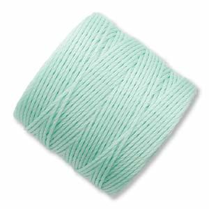 S-Lon, Superlon Tex 210, 0.5mm Bead Cord Mint Green