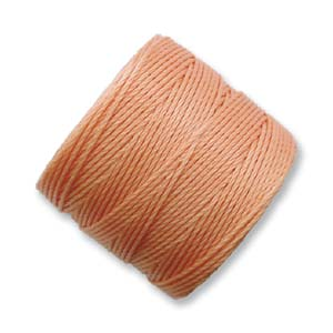 S-Lon, Superlon Tex 210, 0.5mm Bead Cord Pumpkin
