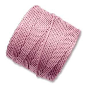 S-Lon, Superlon Tex 210, 0.5mm Bead Cord Rose