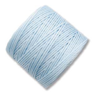 S-Lon, Superlon Tex 210, 0.5mm Bead Cord Sky Blue