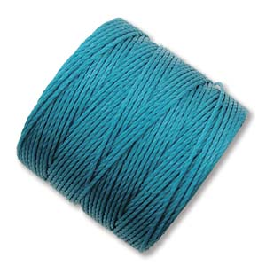 S-Lon, Superlon Tex 210, 0.5mm Bead Cord Teal