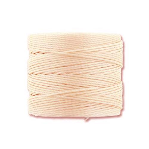 S-Lon, Superlon Tex 210, 0.5mm Bead Cord Vanilla