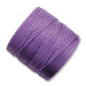 S-Lon, Superlon Tex 210, 0.5mm Bead Cord Violet