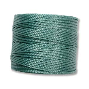 S-Lon, Superlon Tex 210, 0.5mm Bead Cord Vintage Jade