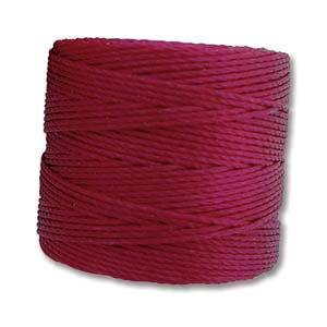 S-Lon, Superlon Tex 210, 0.5mm Bead Cord Wineberry