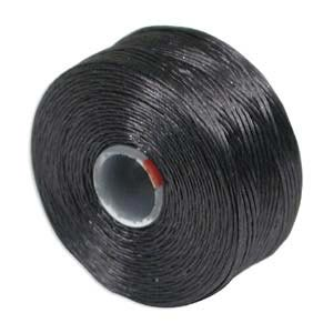 S-Lon, Super Lon Size D Thread Charcoal Grey