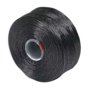 S-Lon, Super Lon Size D Thread Charcoal Grey