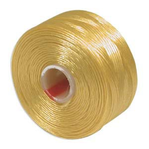 S-Lon, Super Lon Size D Thread Golden Yellow