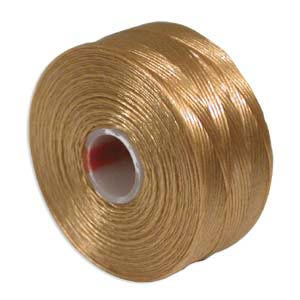 S-Lon, Super Lon Size D Thread Light Brown