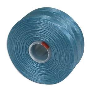 S-Lon, Super Lon Size D Thread Turquoise Blue