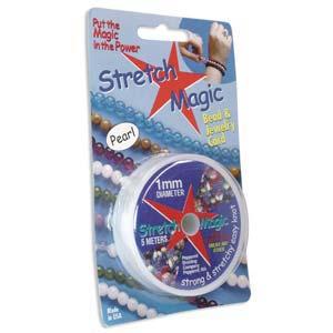 Pearl Stretch Magic 1.0mm/0.39 inch 5m 16ft roll