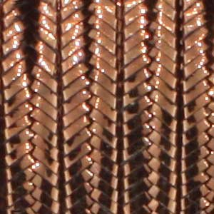 Soutache Braid Cord, Beadsmith 3mm - Metallic Bronze