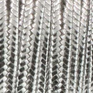 Soutache Braid Cord, Beadsmith 3mm - Silver Metallic