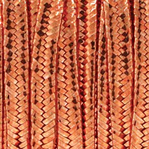 Soutache Braid Cord, Beadsmith 3mm - Metallic Copper