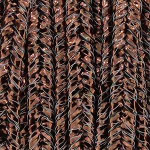 Soutache Braid Cord - Textured Metallic Bronze