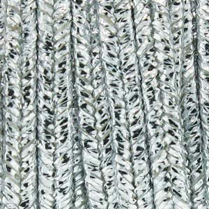 Soutache Braid Cord - Textured Metallic Silver