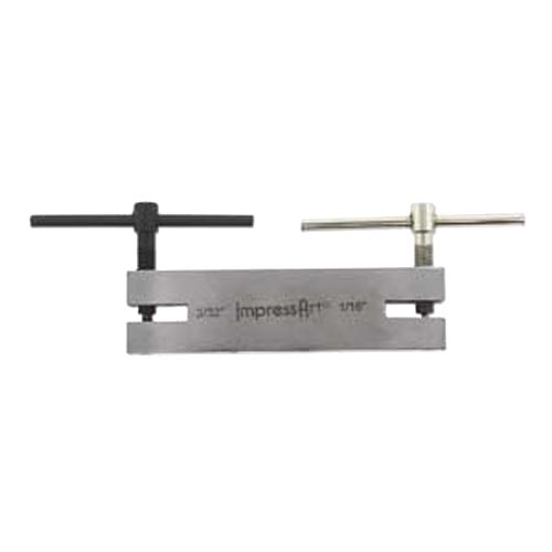 """ImpressArt Double Leather Punch 1.5mm + 2.0mm (1/16""""+3/32"""") - Jewellers Tools"""