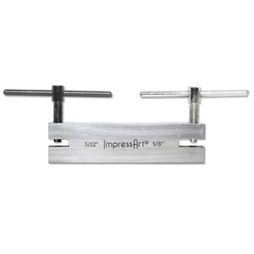 """ImpressArt Large Double Leather Punch 3.5mm + 4.0mm (1/8""""+5/32"""") - Jewellers Tools"""
