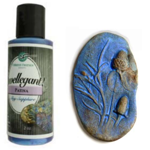 Swellegant Patina Sky Sapphire 2oz Bottle