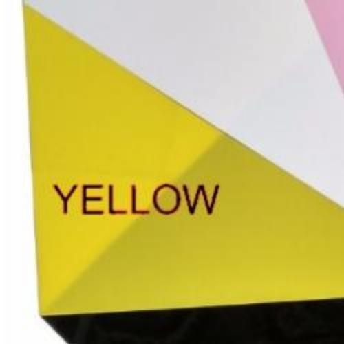 Shrink Plastic Sheet, Glossy, (A6) Yellow