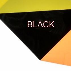 Shrink Plastic Sheet, Glossy, (A6) Black