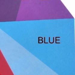 Shrink Plastic Sheet, Glossy, (A5) Blue