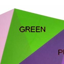 Shrink Plastic Sheet, Glossy, (A6) Green