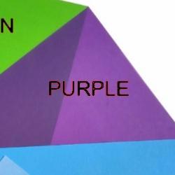 Shrink Plastic Sheet, Glossy, (A6) Purple