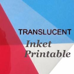 Shrink Plastic Sheet, Glossy, (A4) Opaque Translucent (Printable)