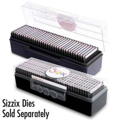 Sizzix Small Storage Case (Holds 35 Dies)