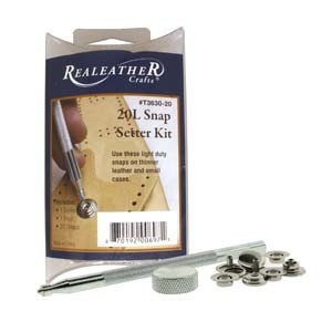 Realeather Crafts, L20 Snap & Setter Kit