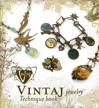 Vintaj Natural Brass - Jewellery Technique Book