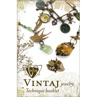 Vintaj Natural Brass - Jewellery Technique Booklet