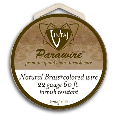 Vintaj by ParaWire - Wire 22ga Vintage Bronze (60ft)