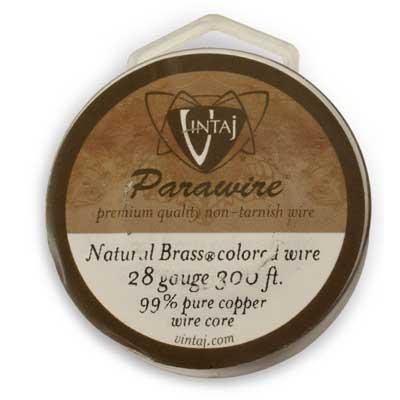 Vintaj by ParaWire - Wire 28g Vintage Bronze