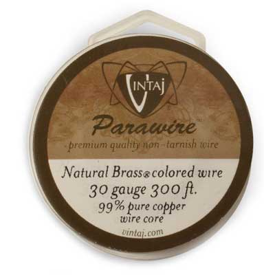 Vintaj by ParaWire - Wire 30g Vintage Bronze