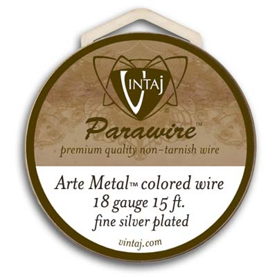 Vintaj by ParaWire - Wire 18g Arte Metal (25FT)